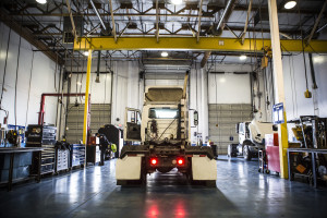 outsourced fleet maintenance shop safety